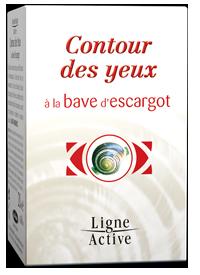 CONTOUR DES YEUX ANTI-ÂGE À LA BAVE D'ESCARGOT