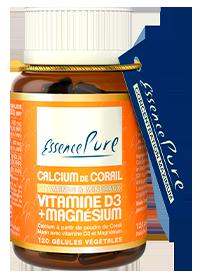 CALCIUM DE CORAIL VITAMINE D3 + MAGNÉSIUM